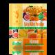 Пряная пшенная каша с инжиром, абрикосом и тыквой