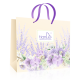 Пакет подарочный бумажный «Нежная орхидея»