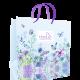 Пакет подарочный бумажный «Бабочки в цветах»